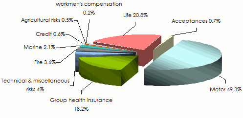 tunisian insurance market-losses