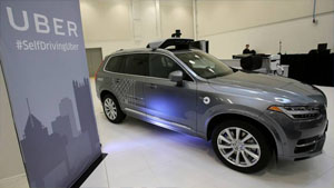 la voiture autonome fait sa premi re victime civile vid o. Black Bedroom Furniture Sets. Home Design Ideas