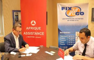 Partnership between Afrique Assistance and FIX'N'GO